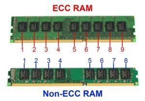 Phân Biệt RAM ECC và RAM NON-ECC